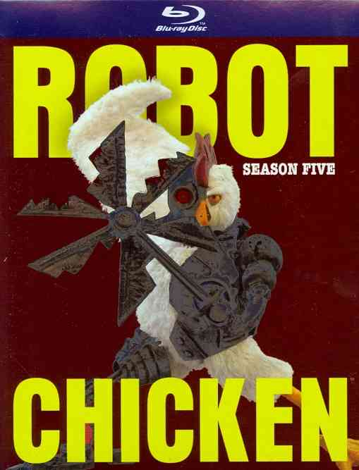 ROBOT CHICKEN:SEASON FIVE BY ROBOT CHICKEN (Blu-Ray)